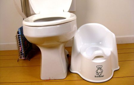 Please can someone give me some kind of guidance? My son is three years old and has been toilet training for about five months. He has done very well with weeing and does them in the toilet and is dry through the night. The trouble I have is that he refuses to do BMs in the toilet.