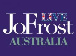 JO FROST LIVE TOUR – AUSTRALIA