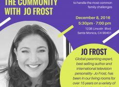 Jo Frost Holds Parenting Q & A at Santa Monica Boys & Girls Club