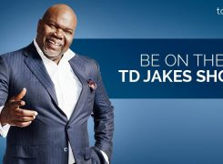 Jo Frost to appear on the TD Jakes Show