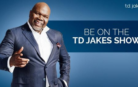 Global parenting expert, Jo Frost will appear on the TD Jakes Show taping Friday, December 9, 2016 at the Glendale Studios in LA.